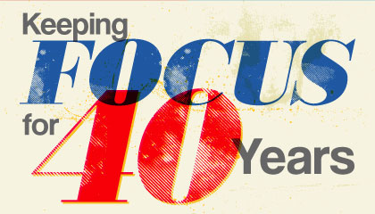 FOCUS 2015—Keeping FOCUS for 40 Years.